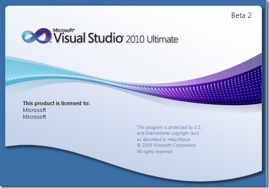 jomit u0026 39 s blog  visual studio 2010  beta 2   u2013 first look